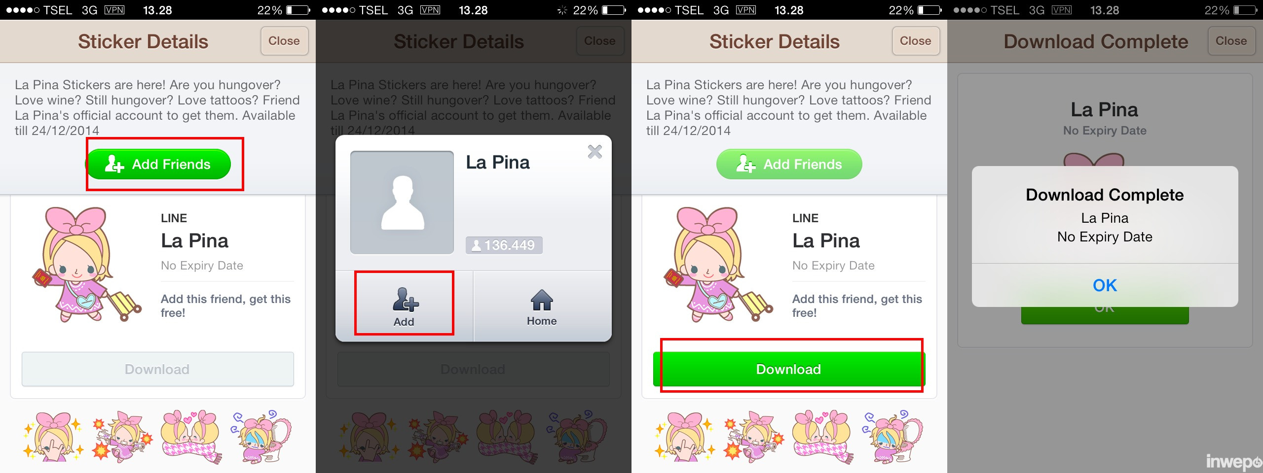 How to download free Line stickers with VPN