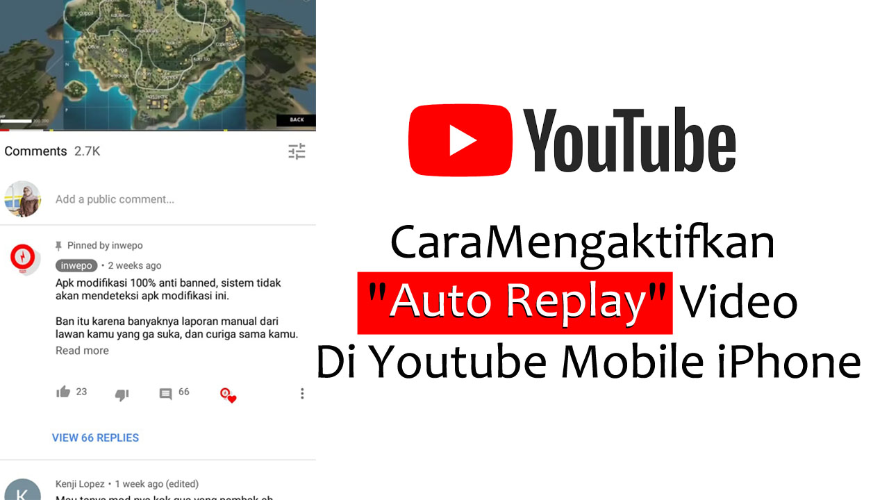 Cara Mengaktifkan Auto Replay Video Di Youtube Iphone Inwepo
